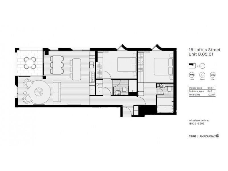 18 Loftus Street, Sydney NSW 2000 Floorplan