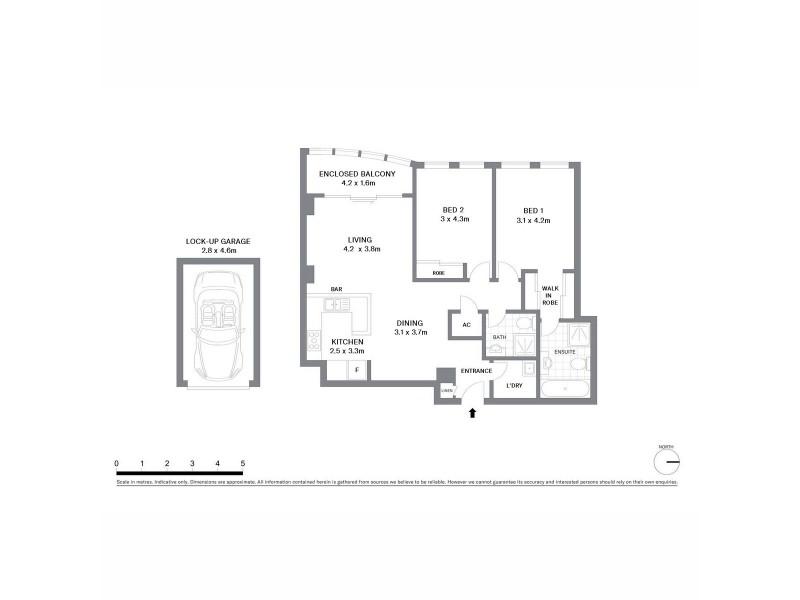 178/158 Day Street, Sydney NSW 2000 Floorplan