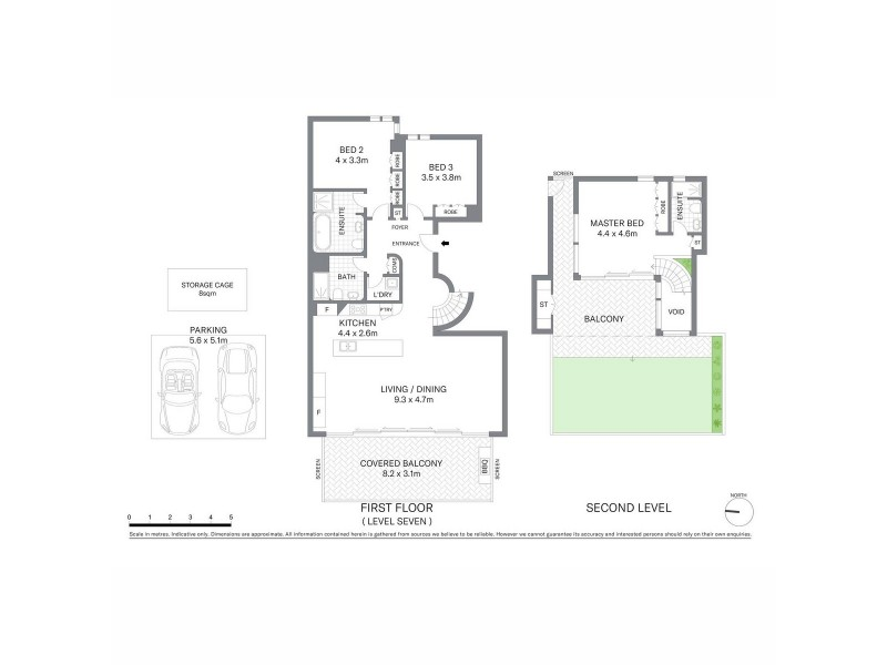 701/29 Barangaroo Avenue, Sydney NSW 2000 Floorplan