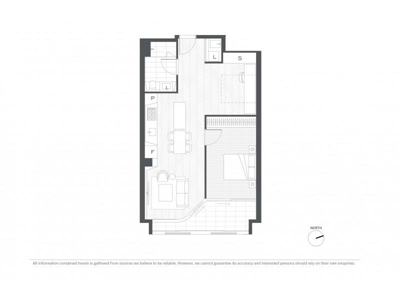 602/85 Harrington Street, Sydney NSW 2000 Floorplan