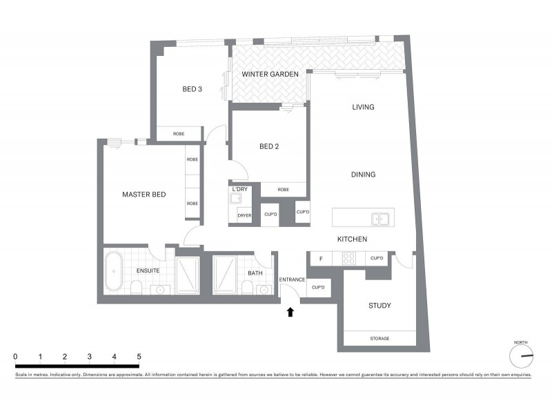 305/160 King Street, Sydney NSW 2000 Floorplan