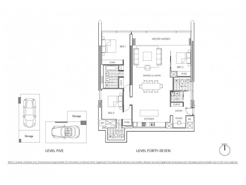 4702/101 Bathurst Street, Sydney NSW 2000 Floorplan