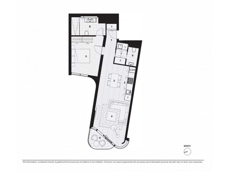910/71 Macquarie Street, Sydney NSW 2000 Floorplan