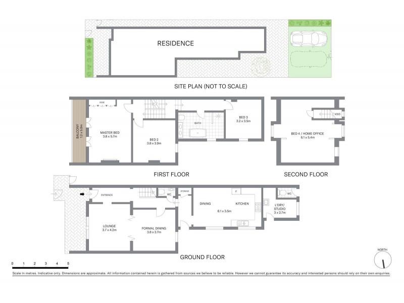 92 Great Buckingham Street, Redfern NSW 2016 Floorplan