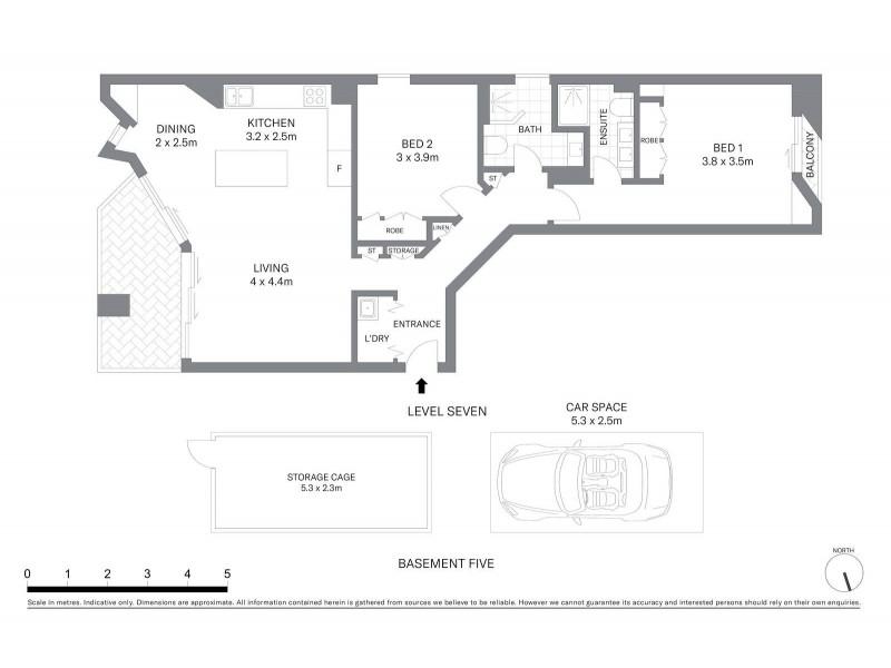 704/15 Young Street, Sydney NSW 2000 Floorplan