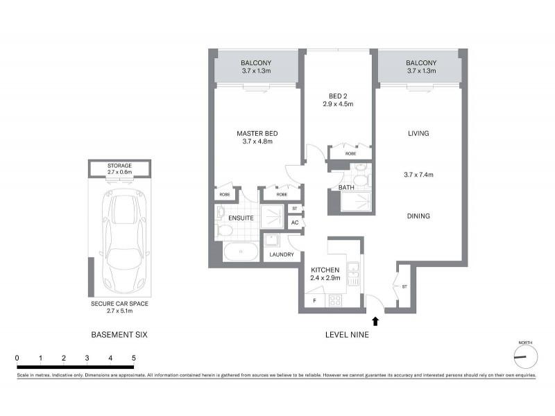 902/281 Elizabeth Street, Sydney NSW 2000 Floorplan