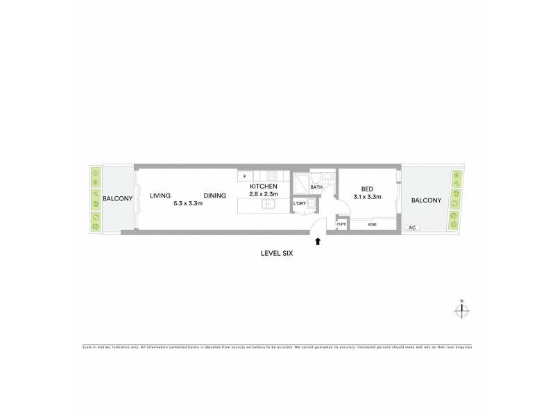 188 Day Street, Sydney NSW 2000 Floorplan