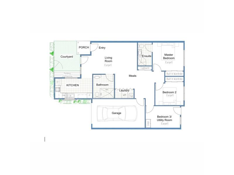 2/30 Rawson Street, Aberdare NSW 2325 Floorplan