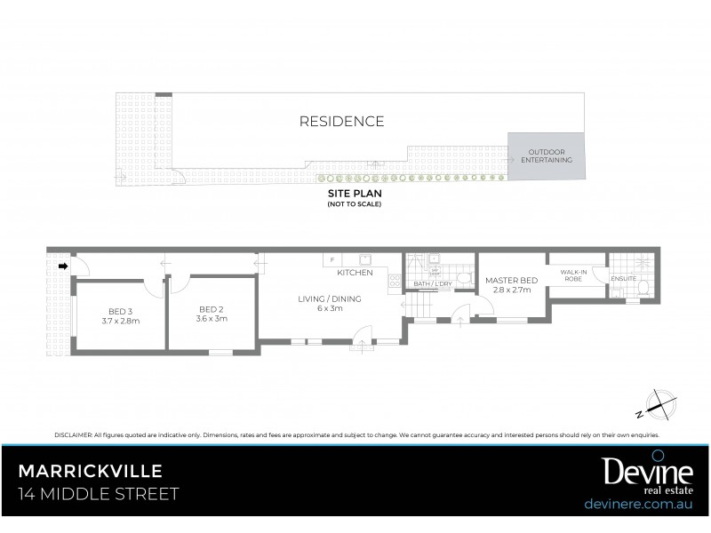 14 Middle Street, Marrickville NSW 2204 Floorplan
