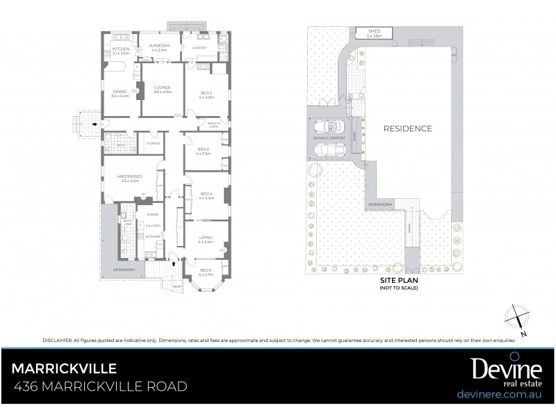 436 Marrickville Road, Marrickville NSW 2204 Floorplan