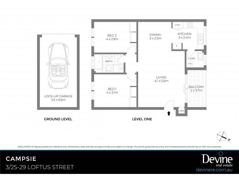 3/25-29 Loftus Street, Campsie NSW 2194 Floorplan