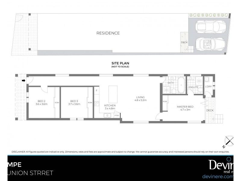 10 Union Street, Tempe NSW 2044 Floorplan