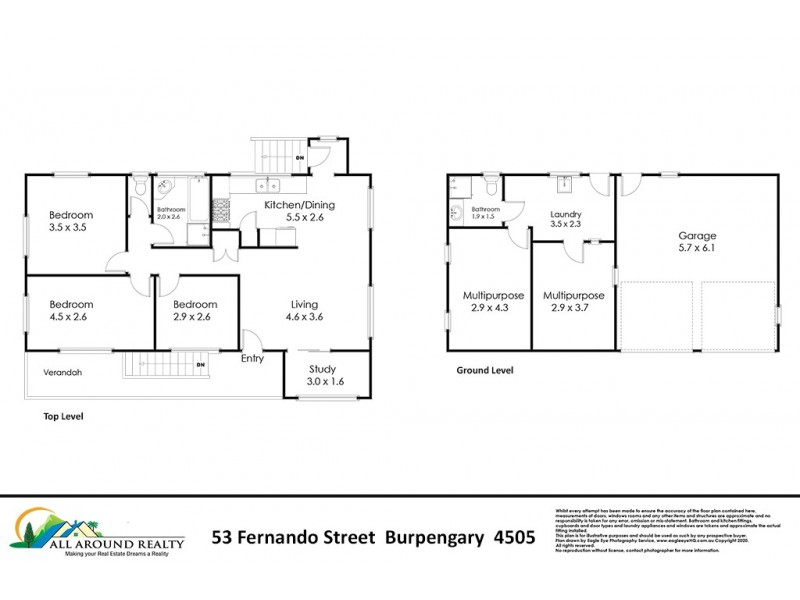 53 Fernando Street, Burpengary QLD 4505 Floorplan