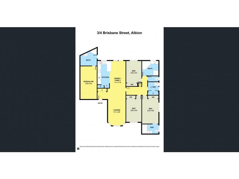 3/4 Brisbane Street, Albion VIC 3020 Floorplan