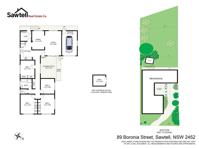 89 Boronia Street, Sawtell NSW 2452 Floorplan