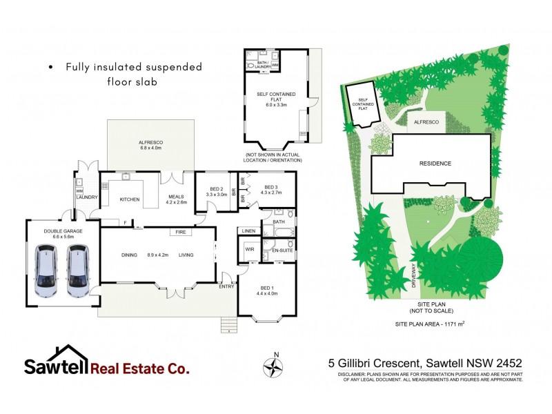 5 Gillibri Crescent, Sawtell NSW 2452 Floorplan