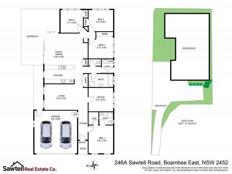 246A Sawtell Road, Boambee East NSW 2452 Floorplan