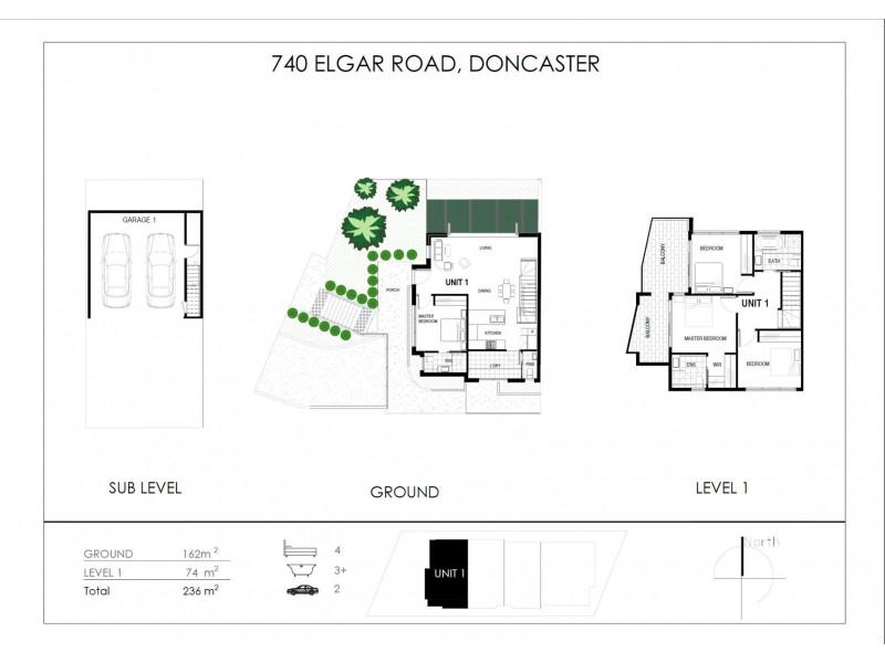 2/740 Elgar Road, Doncaster VIC 3108 Floorplan