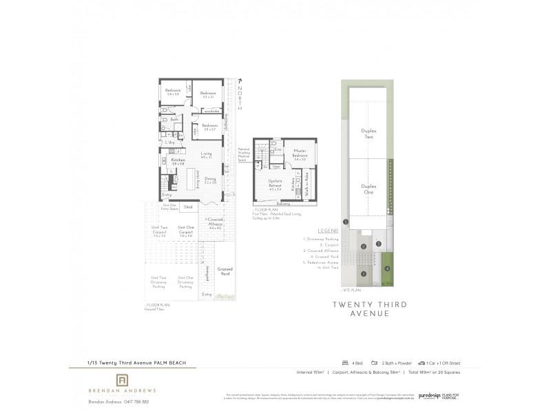 1/13 Twenty Third Avenue, Palm Beach QLD 4221 Floorplan