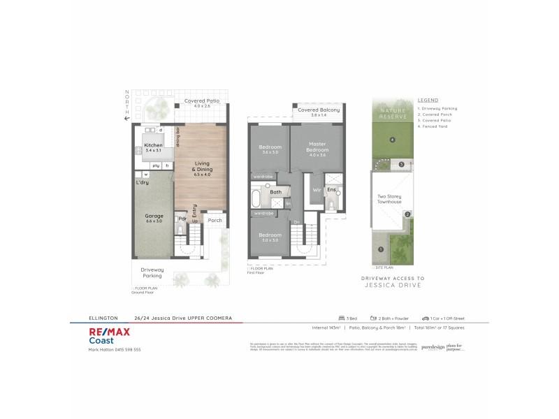 26/24 Jessica Drive, Upper Coomera QLD 4209 Floorplan