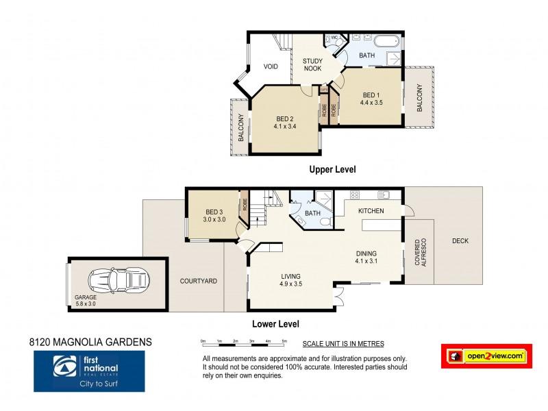 8120 Magnolia Gardens Court, Hope Island QLD 4212 Floorplan