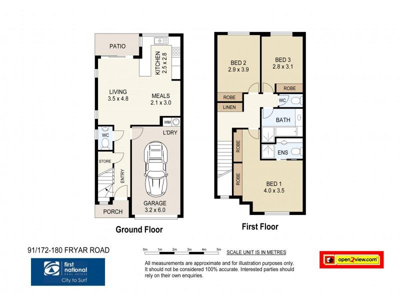 91/172 Fryar Road, Eagleby QLD 4207 Floorplan