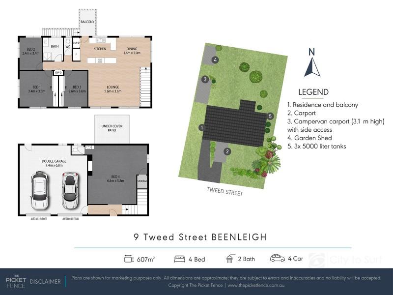 9 Tweed Street, Beenleigh QLD 4207 Floorplan