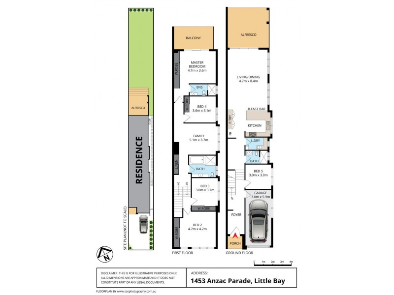 1453 Anzac Parade, Little Bay NSW 2036 Floorplan
