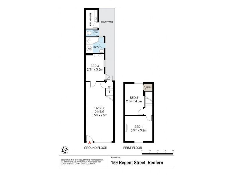 159 Regent Street, Redfern NSW 2016 Floorplan
