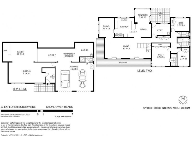 23 Explorer Boulevard, Shoalhaven Heads NSW 2535 Floorplan