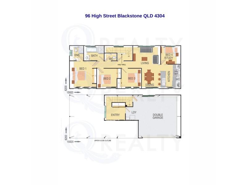 96 High Street, Blackstone QLD 4304 Floorplan