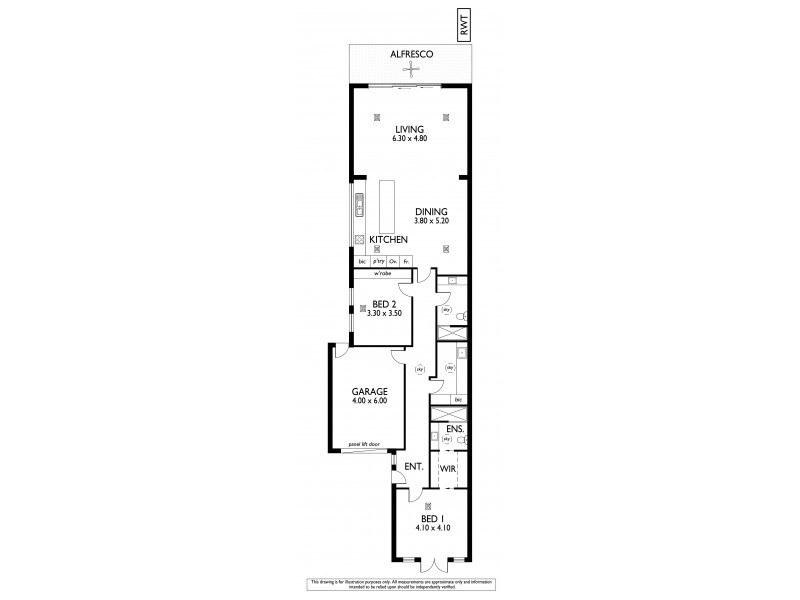 14A Swinburne Avenue, Plympton Park SA 5038 Floorplan