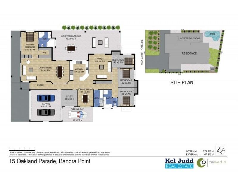 15 Oakland Parade, Banora Point NSW 2486 Floorplan