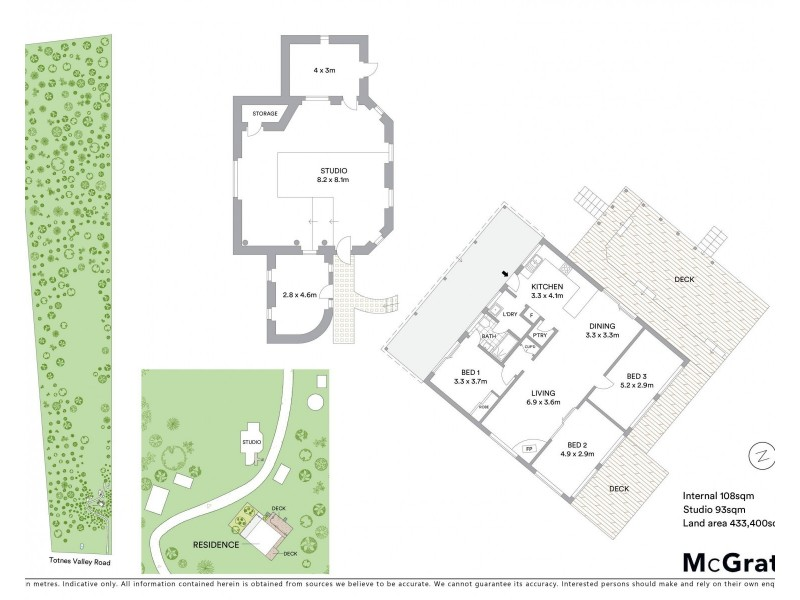 136 Totnes Valley Road, Mudgee NSW 2850 Floorplan