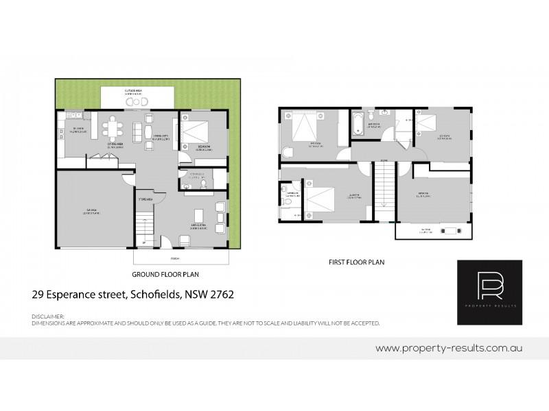 29 Esperance, Schofields NSW 2762 Floorplan