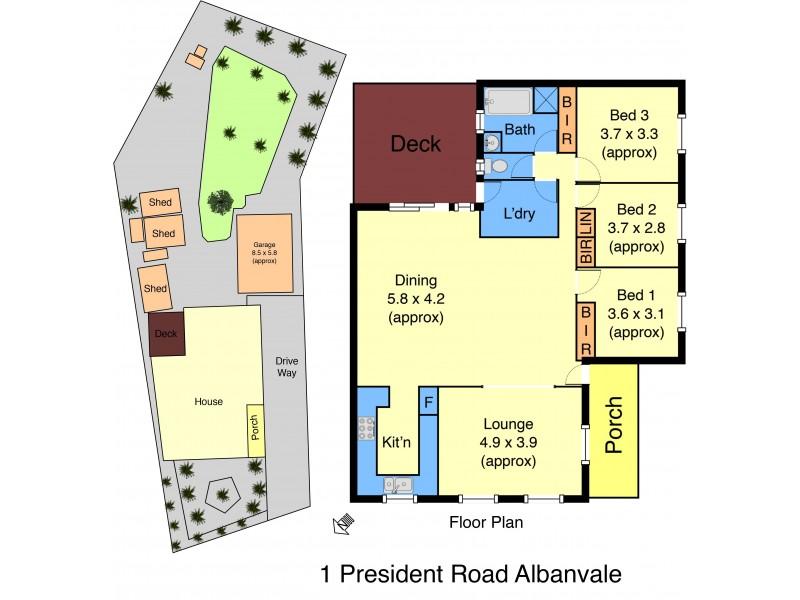 1 President Road, Albanvale VIC 3021