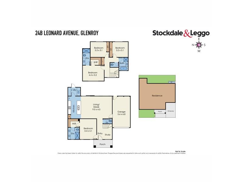 24B Leonard Avenue, Glenroy VIC 3046 Floorplan