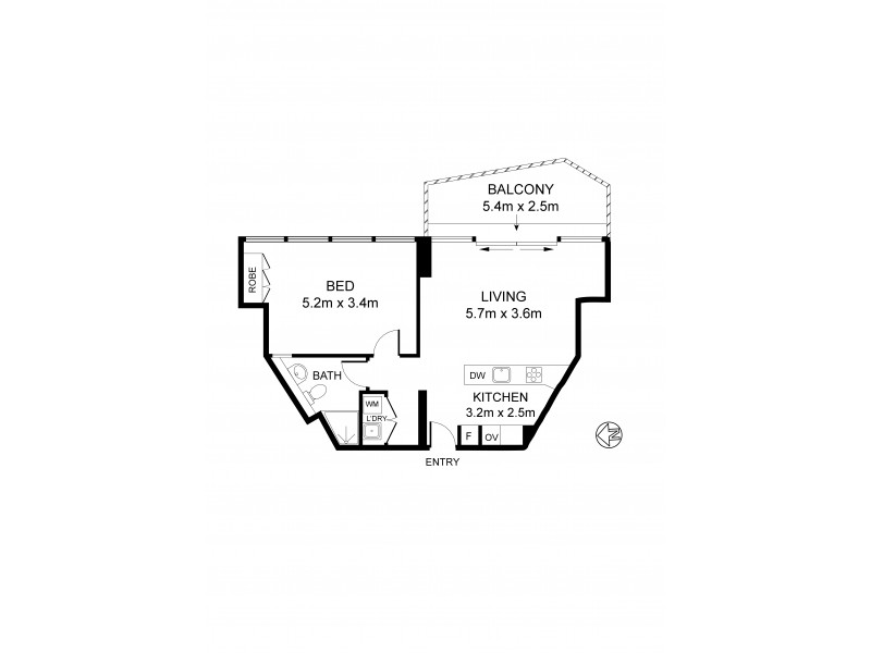 15B 82 Darlinghurst Road, Potts Point NSW 2011 Floorplan