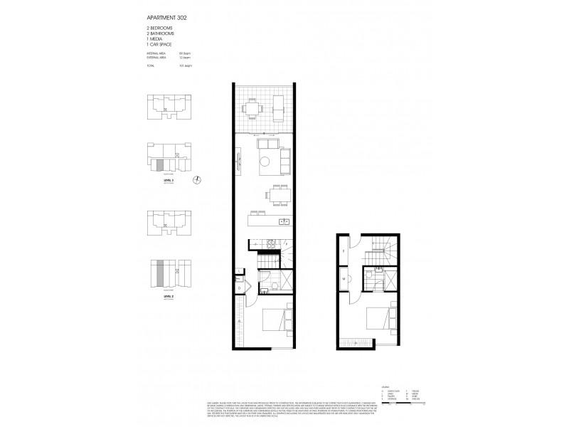 302/141 McEvoy Street, Alexandria NSW 2015 Floorplan