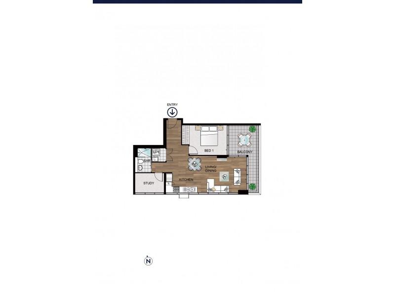 115/10 Galloway street, Mascot NSW 2020 Floorplan