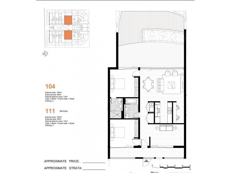 104/581-587 Gardeners road, Mascot NSW 2020 Floorplan