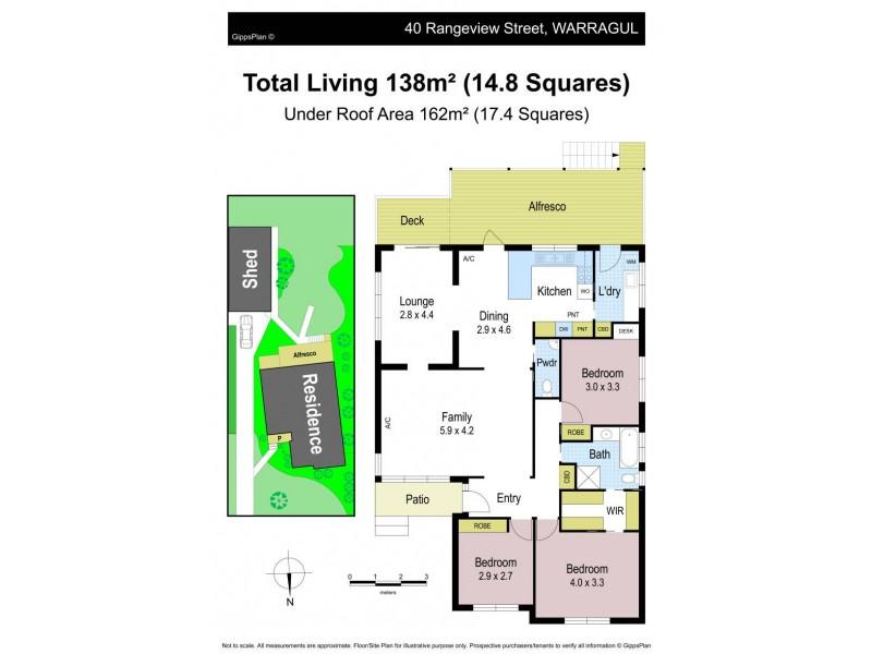 40 Rangeview Street, Warragul VIC 3820 Floorplan
