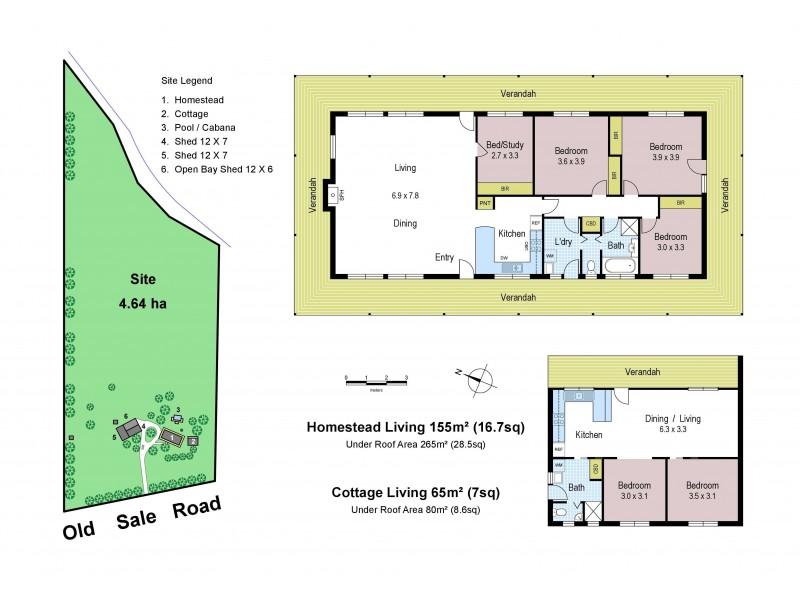 703 Old Sale Road, Brandy Creek VIC 3821 Floorplan