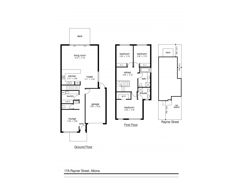 17a Rayner Street, Altona VIC 3018 Floorplan