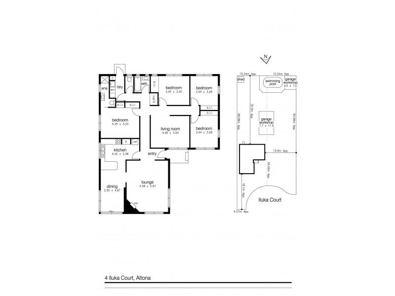 4-5 Iluka Court, Altona VIC 3018 Floorplan