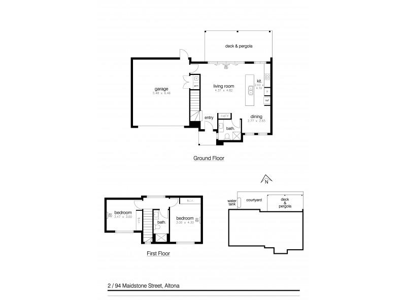 2/94 Maidstone Street, Altona VIC 3018 Floorplan