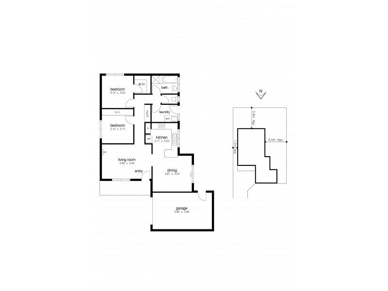 2/11 Thompson Court, Altona Meadows VIC 3028 Floorplan