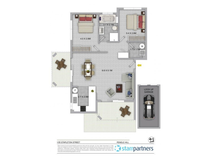 1/55 Stapleton Street, Wentworthville NSW 2145 Floorplan