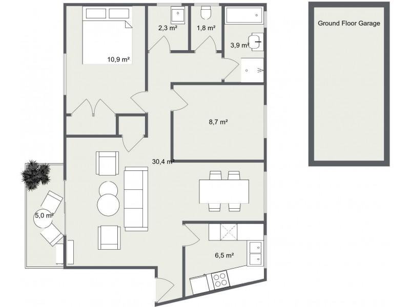 34/17-25 Elizabeth Street, Parramatta NSW 2150 Floorplan