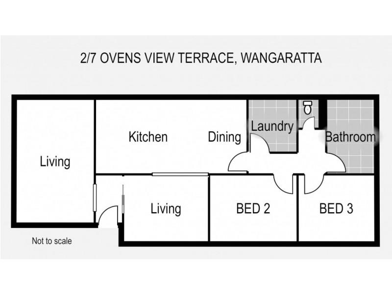 2/7 Ovens View Terrace, Wangaratta VIC 3677 Floorplan